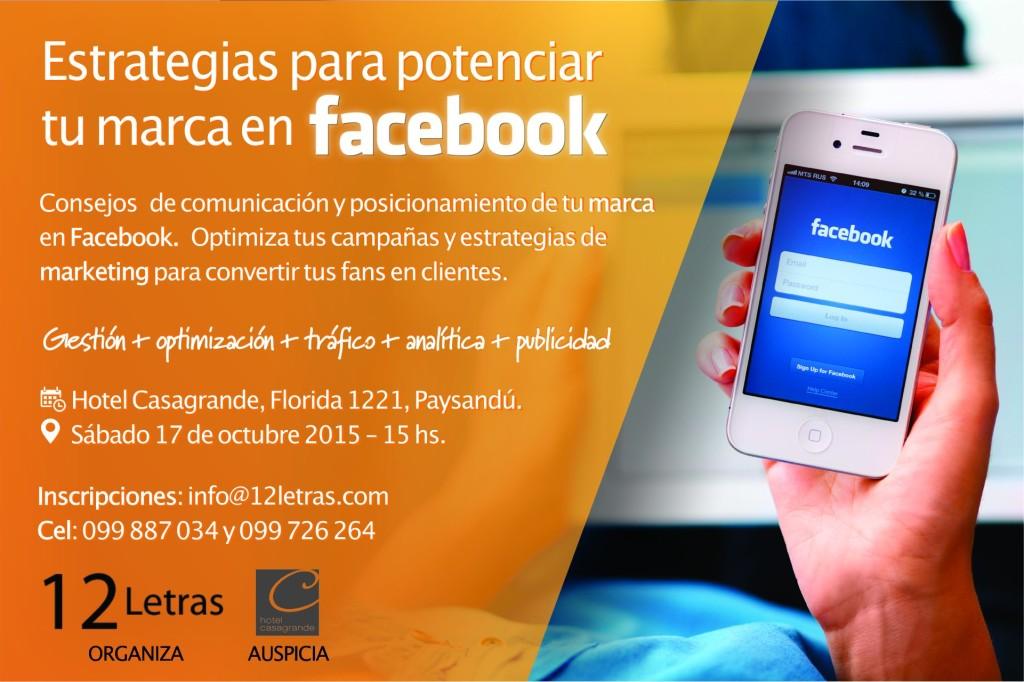 Taller facebook -12Letras