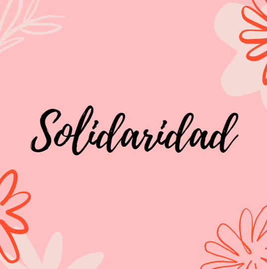 Ser solidario y compartir siempre se siente mejor para quien da que para quien recibe. Cuando se comparte conocimiento también se aprende.